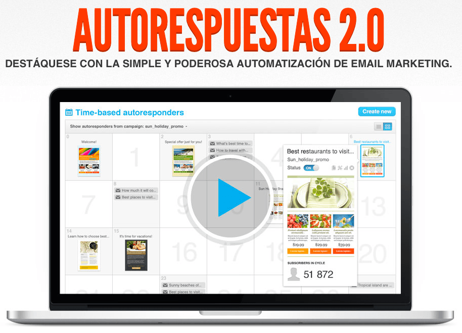 eMail Marketing profesional… ¡y en español!