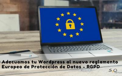 Protección de datos [RGPD 2018]
